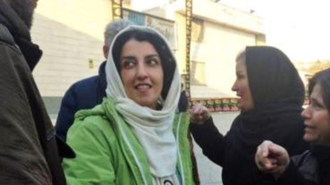 نرجس محمدي قبل دخولها السجن