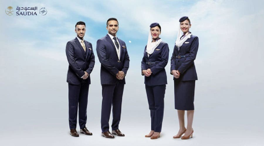 Saudi Arabian Airlines cabin crew new uniform -5 (Supplied)