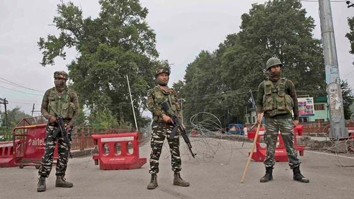 قوات هندية في كشمير