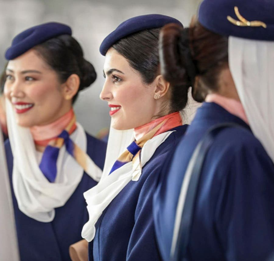 Saudi Arabian Airlines cabin crew new uniform -4 (Supplied)