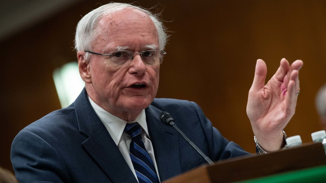 James Jeffrey, State Department special representative for Syria engagement and special envoy to the Global Coalition to Defeat ISIS, testifies before the State, Foreign Operations and Related Programs Subcommittee on Capitol Hill in Washington, DC, on October 23, 2019.