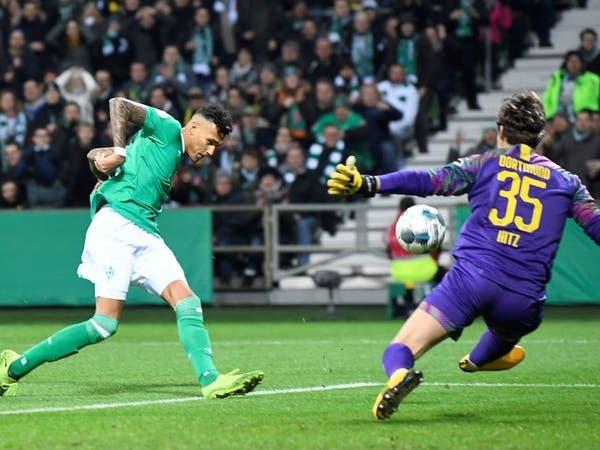 دورتموند يلحق بلايبزيغ ويودع كأس ألمانيا أمام بريمن