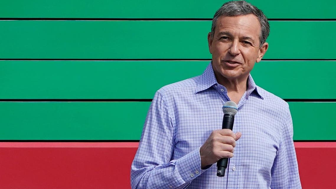 Disney Chief Executive Bob Iger said 50 percent of Disney+ subscribers came from the company's own website. (File photo: Reuters)