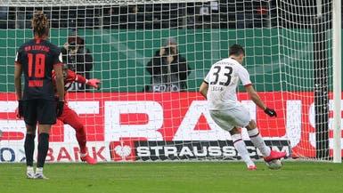 فرانكفورت يقصي لايبزيغ من كأس ألمانيا