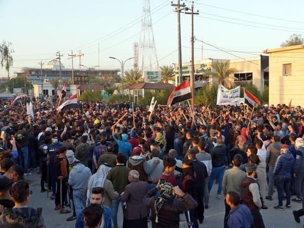 قتلى في النجف جراء اشتباكات بين أنصار الصدر والمتظاهرين