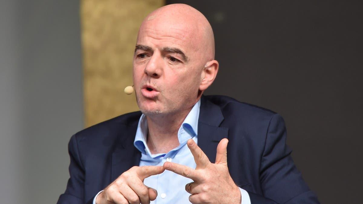 إنفانتينو يدعو إلى زيادة عدد الأندية في المونديال