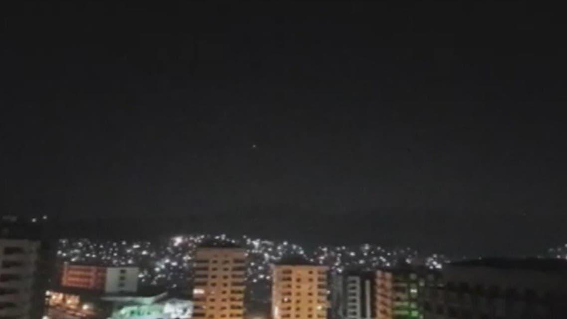 هجمات صاروخية تستهدف العاصمة السورية دمشق