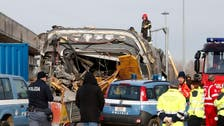 High-speed train derails in Italy killing two railway workers