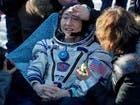 رائدة فضاء أميركية تعود للأرض بعد مهمة قياسية