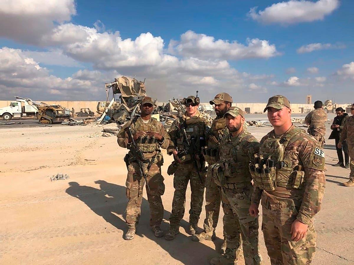 جنود عراقيون في قاعدة عين الأسد في الأنبار (أرشيفية)