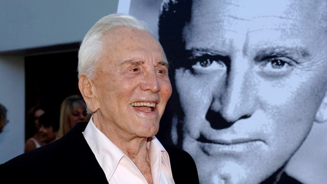 Actor Kirk Douglas arrives to receive an inaugural award for Excellence in film presented by the Santa Barbara International Film Festival, California. (File photo: Reuters)