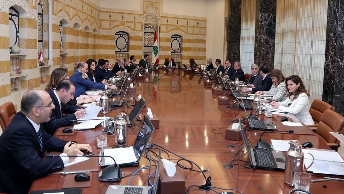Lebanese cabinet meeting 2.6 (twitter)