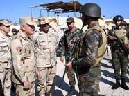 رئيس أركان الجيش المصري يتفقد سيناء ويتعهد باقتلاع الإرهاب