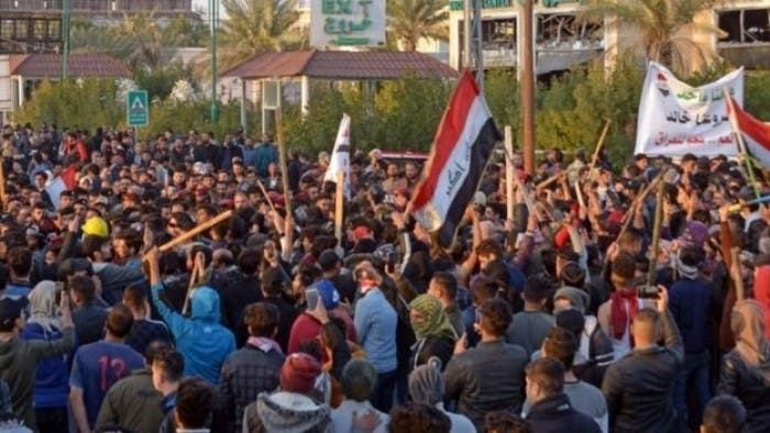 تظاهرات در كربلاء