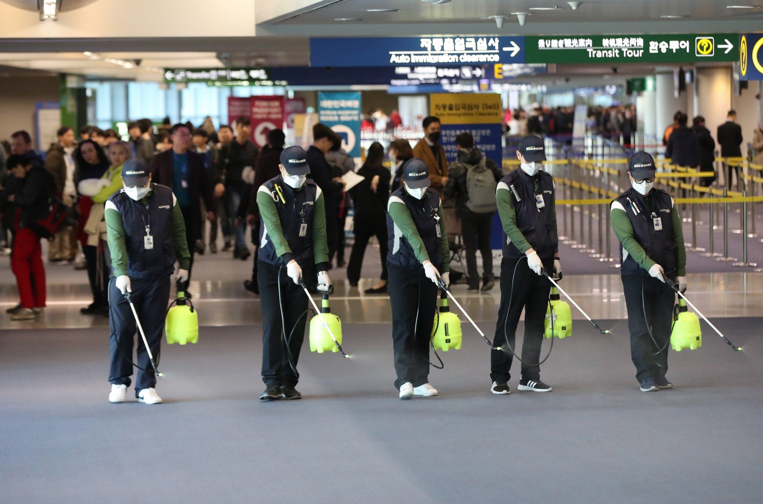 تدابير وقائية في مطار هيثرو