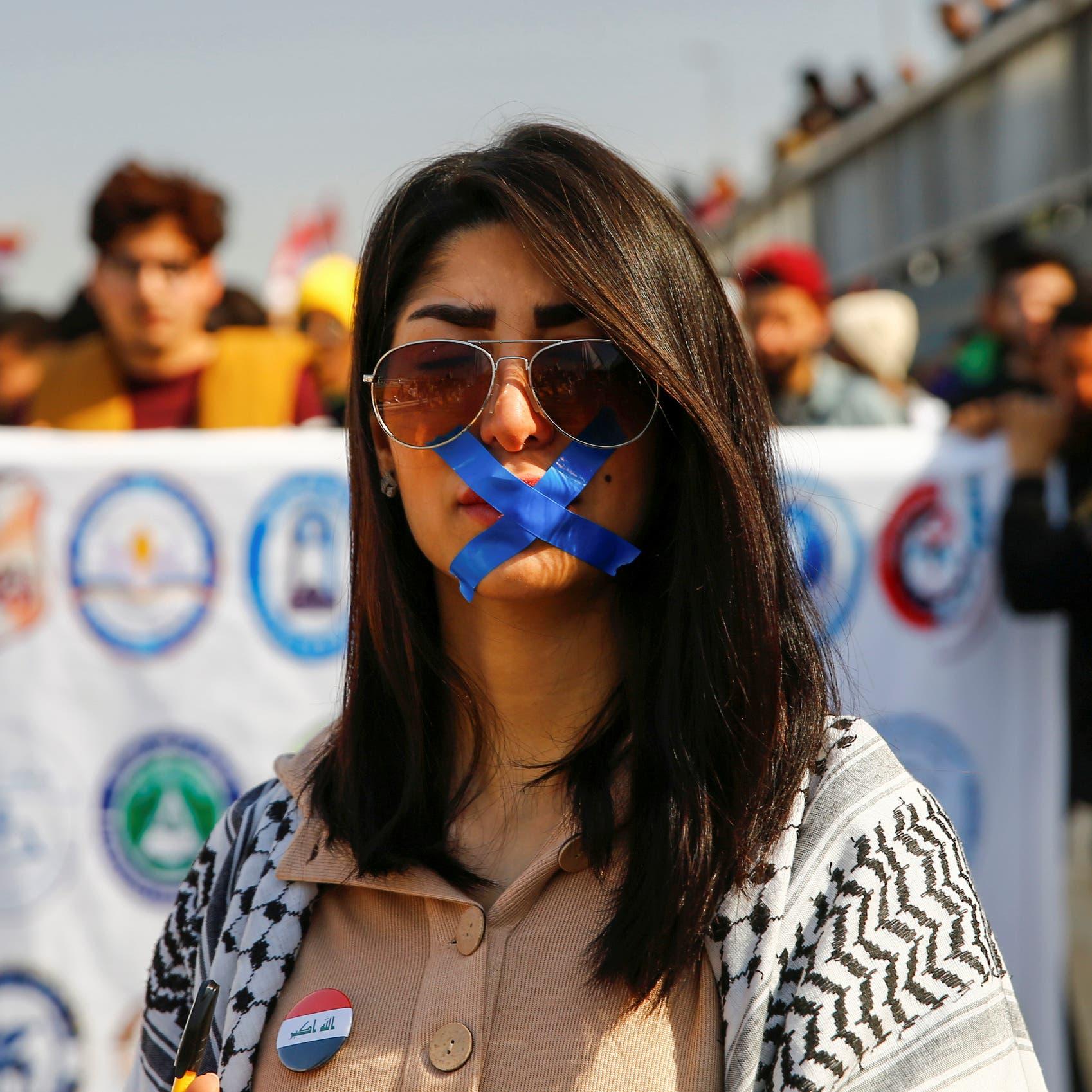 اتصال إيراني وتهديد.. ناشط عراقي يعرض معداته للبيع