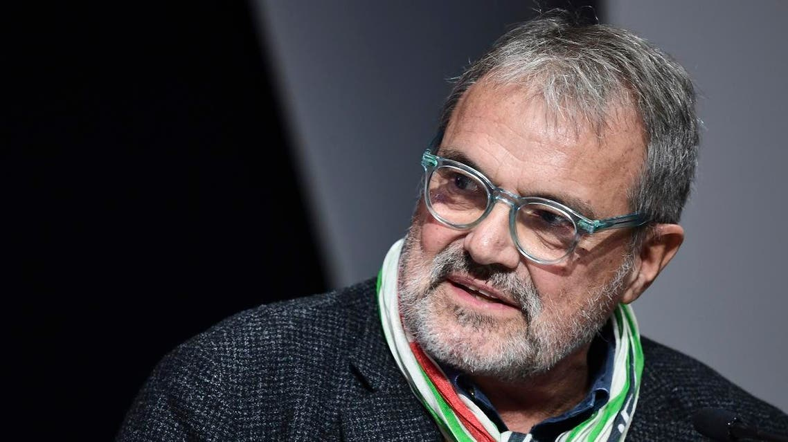 Italian creative director and photographer, Oliviero Toscani attends a function in Milan on November 12, 2019. (File photo: AFP)