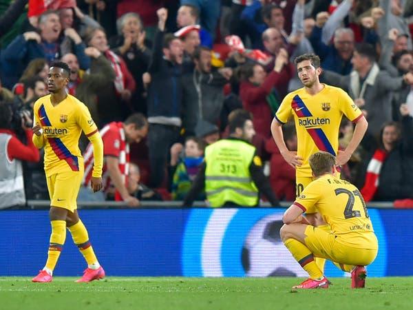 """خلافات واتهامات في نادي برشلونة.. والسبب """"كورونا"""""""