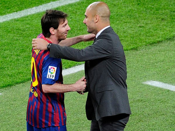 غوارديولا يتمنى أن ينهي ميسي مسيرته في برشلونة