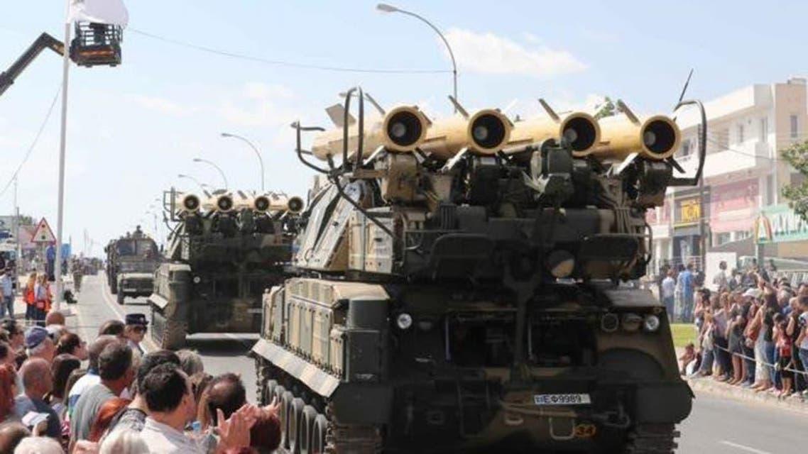 قبرص کی فوج کے میزائل