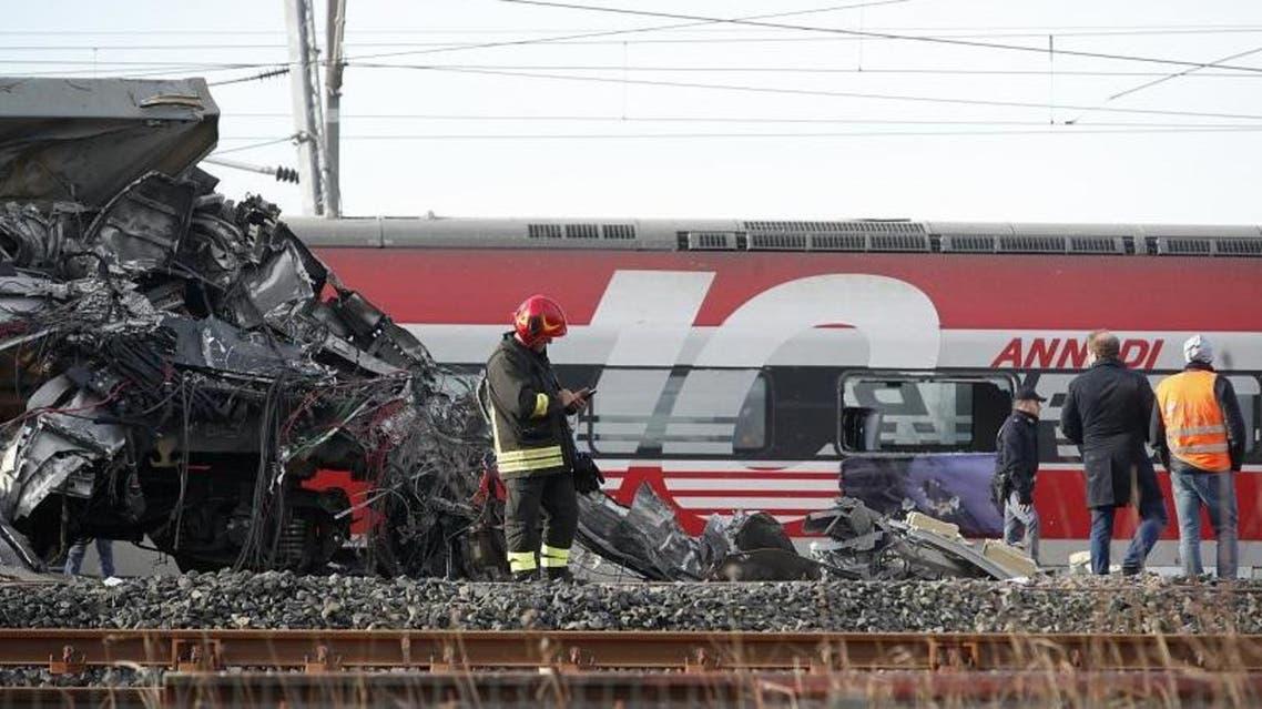 یک قطار مسافربری در ایتالیا از خط ریل خارج شد؛ 2 تن کشته شدند