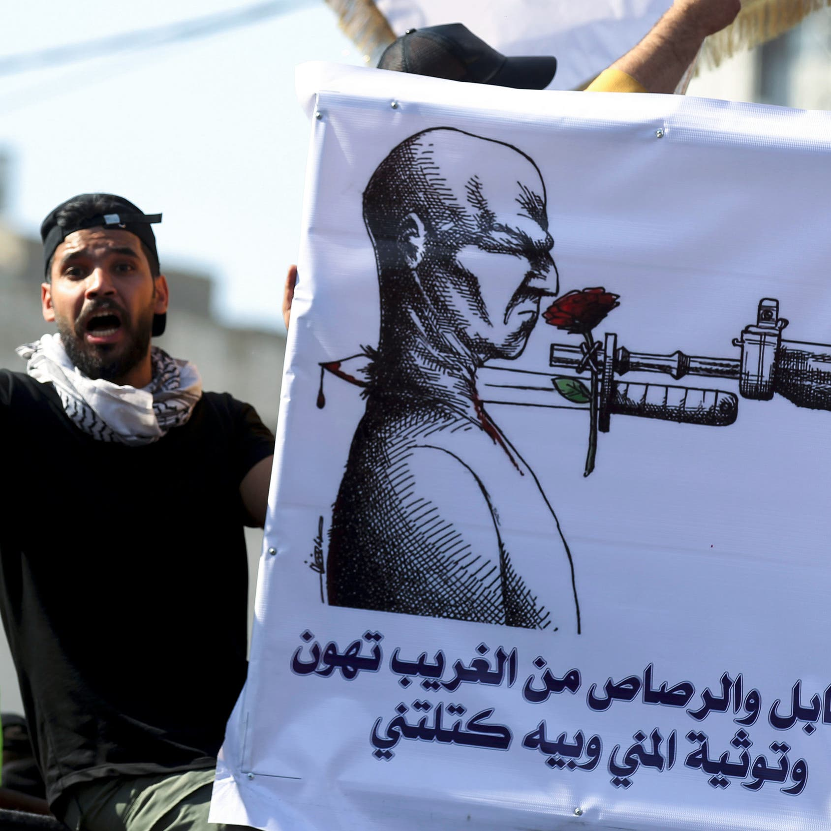 رصاص غدر بوجه ناشطين.. وإقالة قائد شرطة البصرة