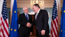 Top EU diplomat briefs US leaders on Iran trip, Middle East plan