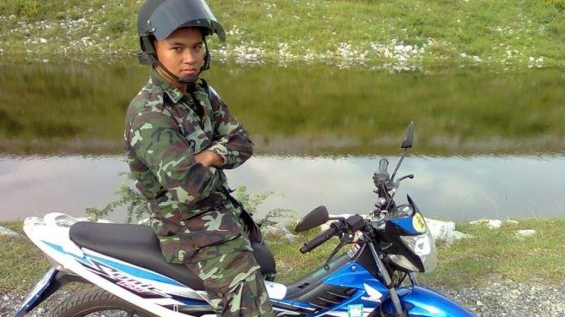 صورة متداولة للجندي التايلاندي