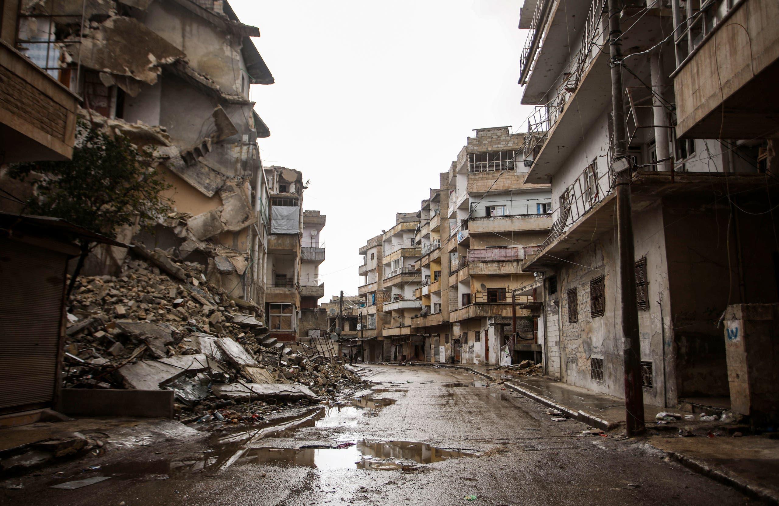 من جنوب إدلب يوم 7 فبراير