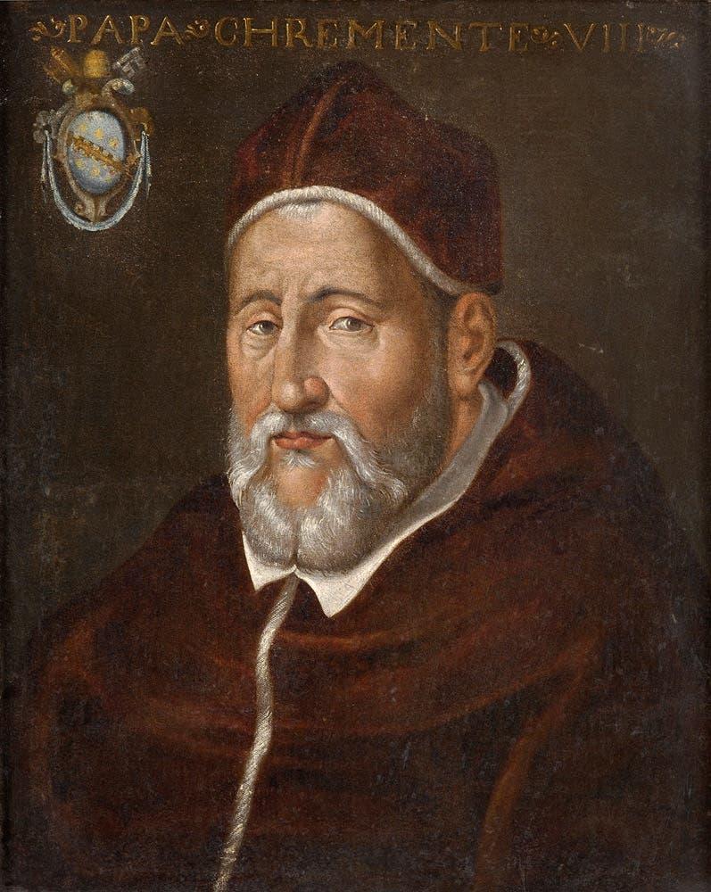 لوحة تجسد البابا كليمنت الثامن