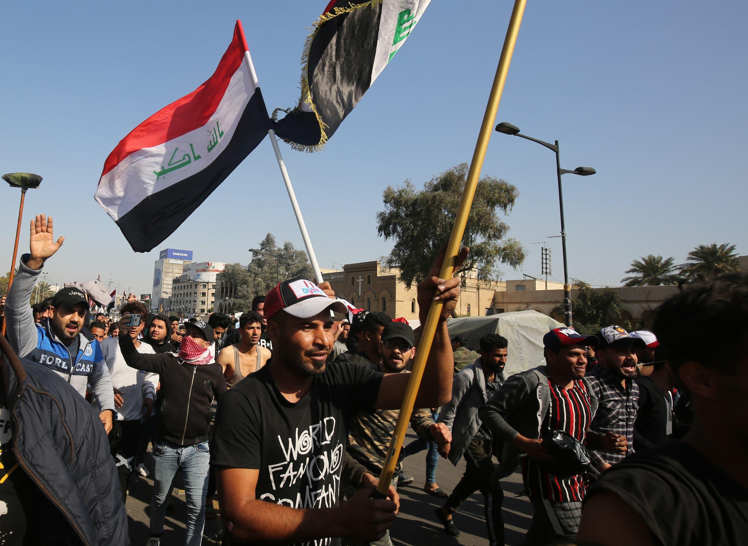 تظاهرات در بغداد