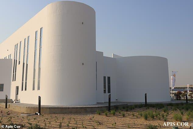 أكبر مبنى مطبوع ثلاثي الأبعاد في إمارة دبي