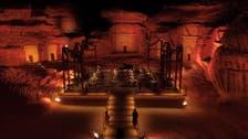 Michelin star chefs serve their dishes under al-Ula desert stars in Saudi Arabia