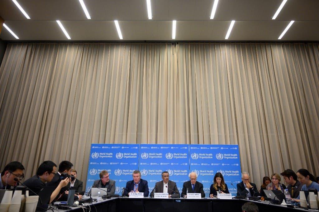اجتماع لمنظمة الصحة العالمية للتباحث حول فيروس كورونا