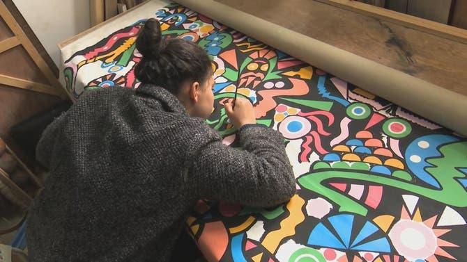 محطات | لوحاتُ مشاهير بريشة مواهب مغربية شبابية
