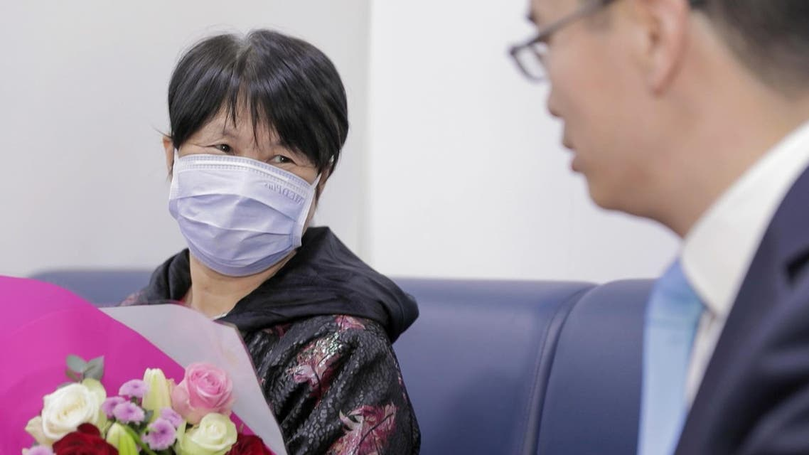 The 73 year old Chinese woman who was cured of coronavirus in the UAE (WAM)