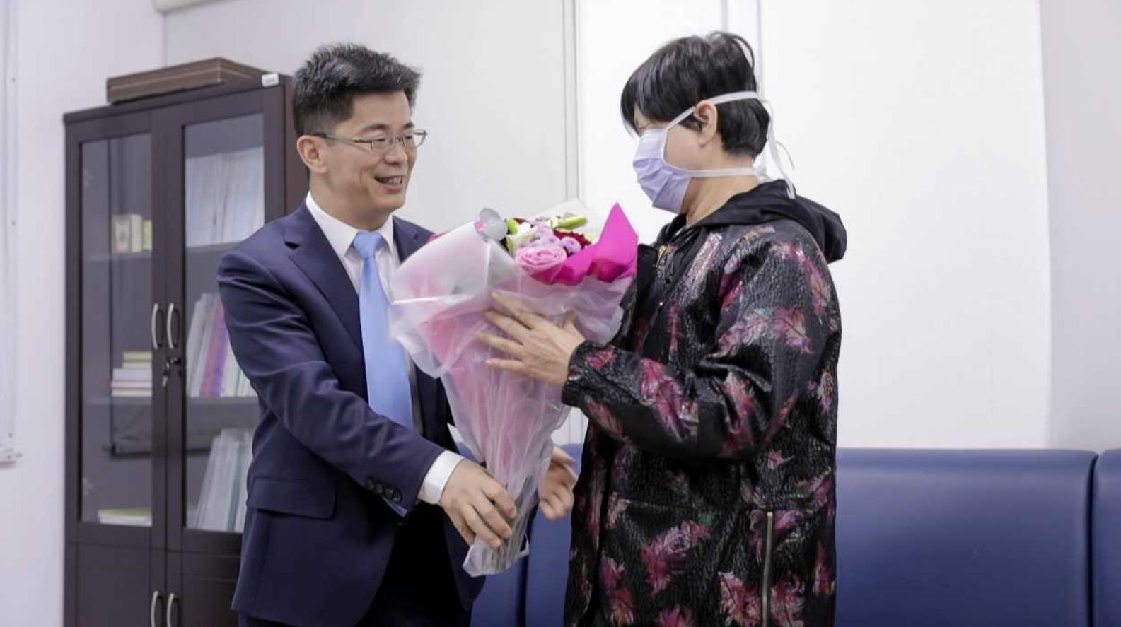 The Chinese Consul General in Dubai Li Xuhang visited Yujia. (WAM)