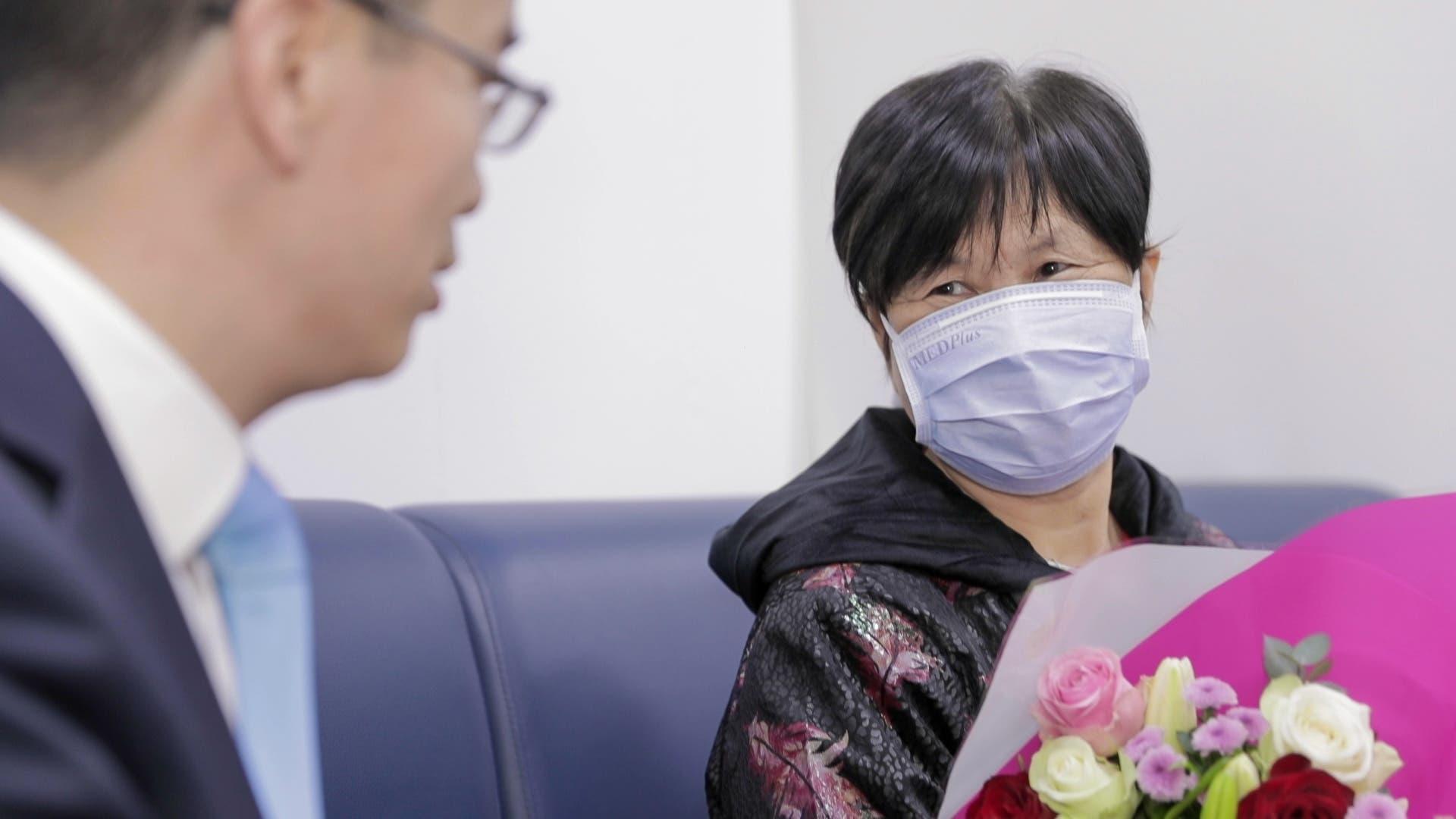 السيدة الصينية (73 عاماً) التي شفيت من كورونا