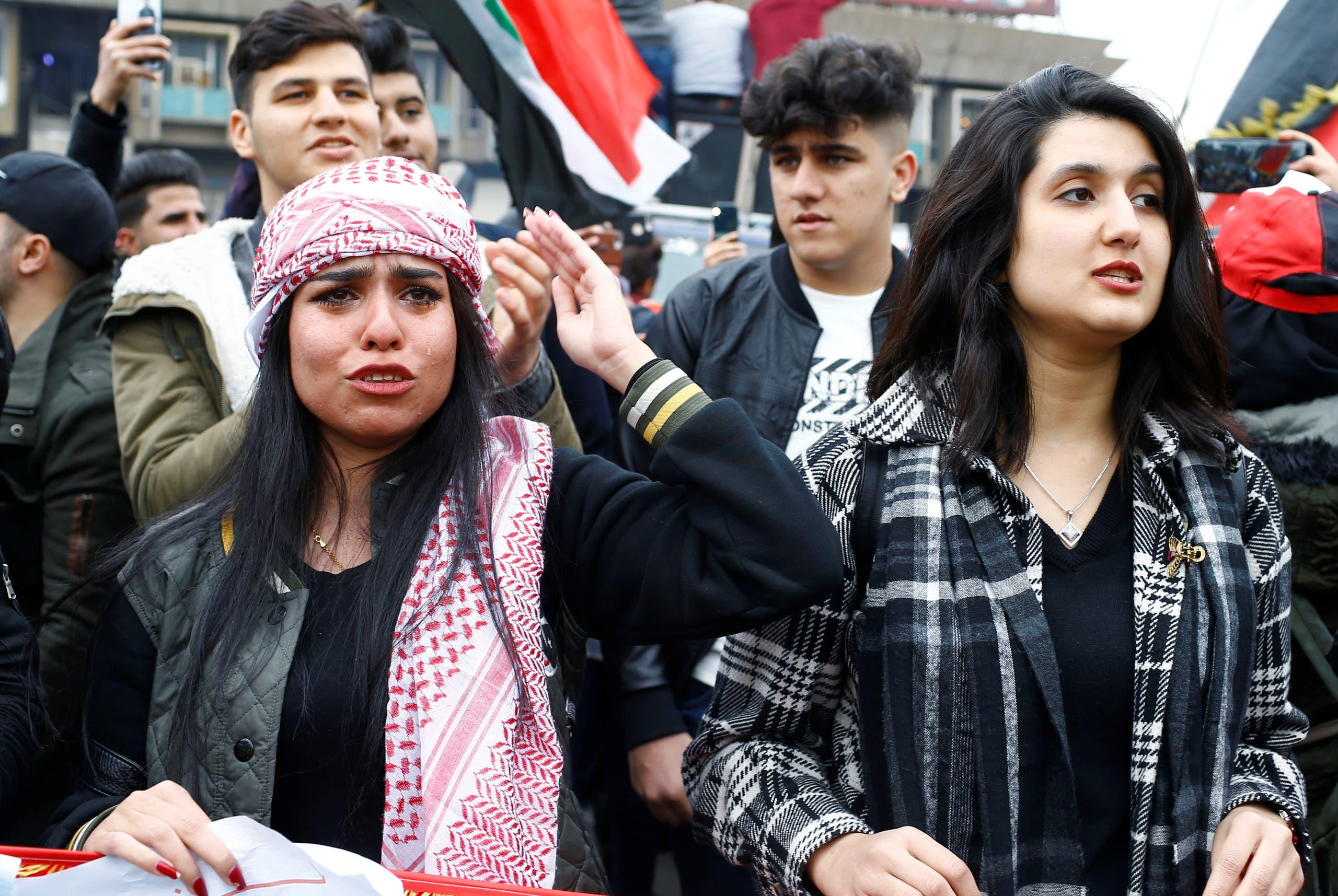 من تظاهرات العراق