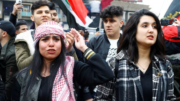 تظاهرات طلابية في بغداد وكربلاء والنجف والديوانية