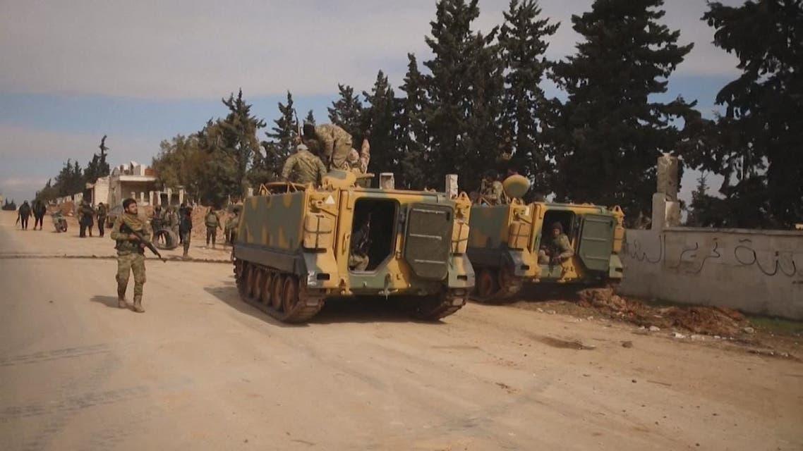 مقتل 5 جنود أتراك في قصف شنته قوات النظام السوري في إدلب