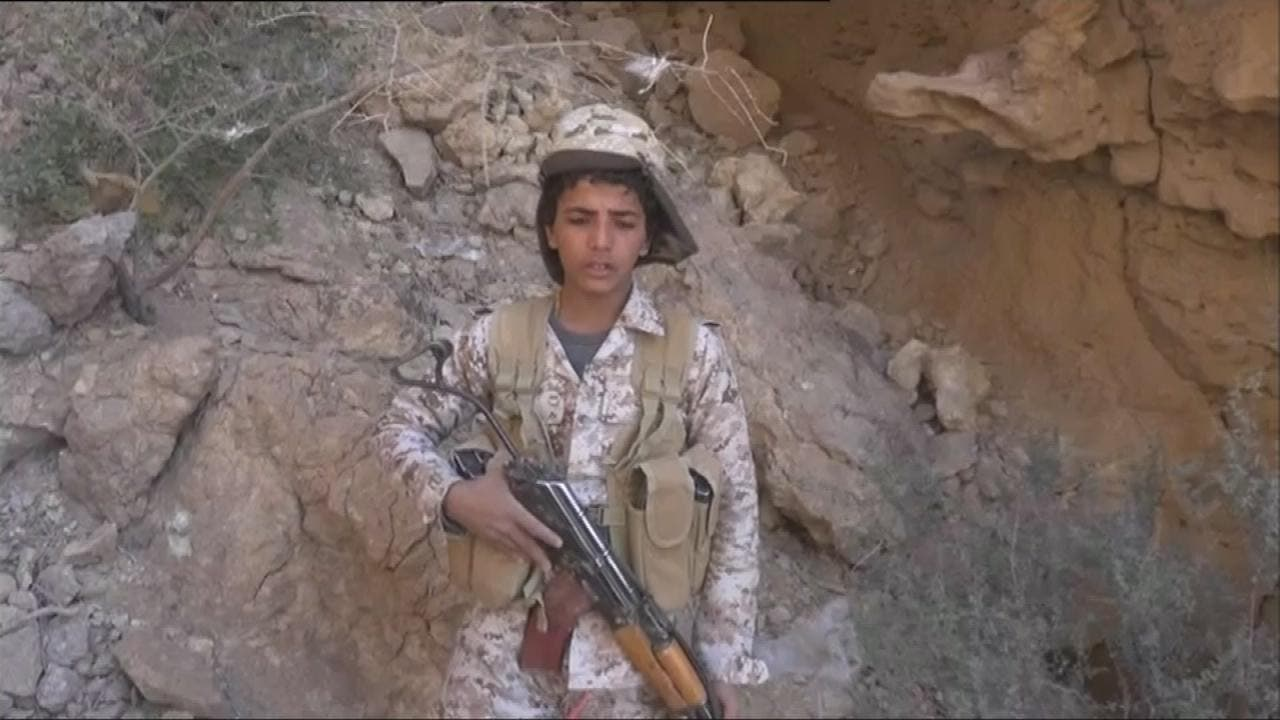 الحوثي يستغل أطفال اليمن