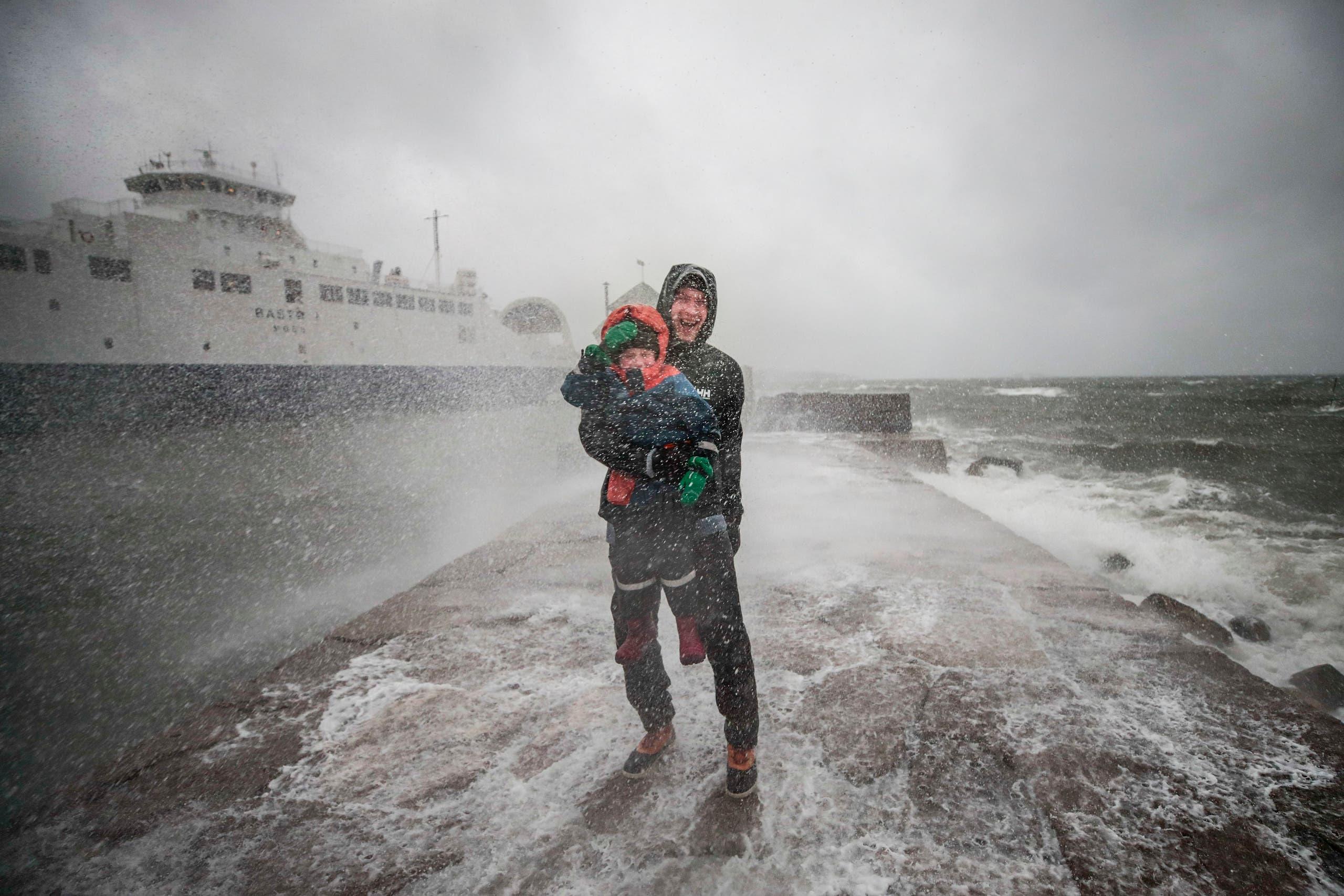 التقلبات الجوية في النرويج