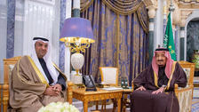 Saudi Arabia's King Salman discusses regional issues with GCC secretary-general