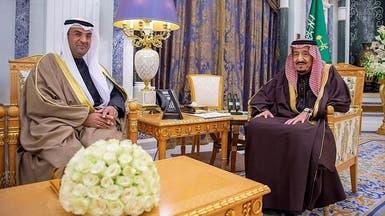 الملك سلمان يبحث الشأن الخليجي مع أمين عام مجلس التعاون