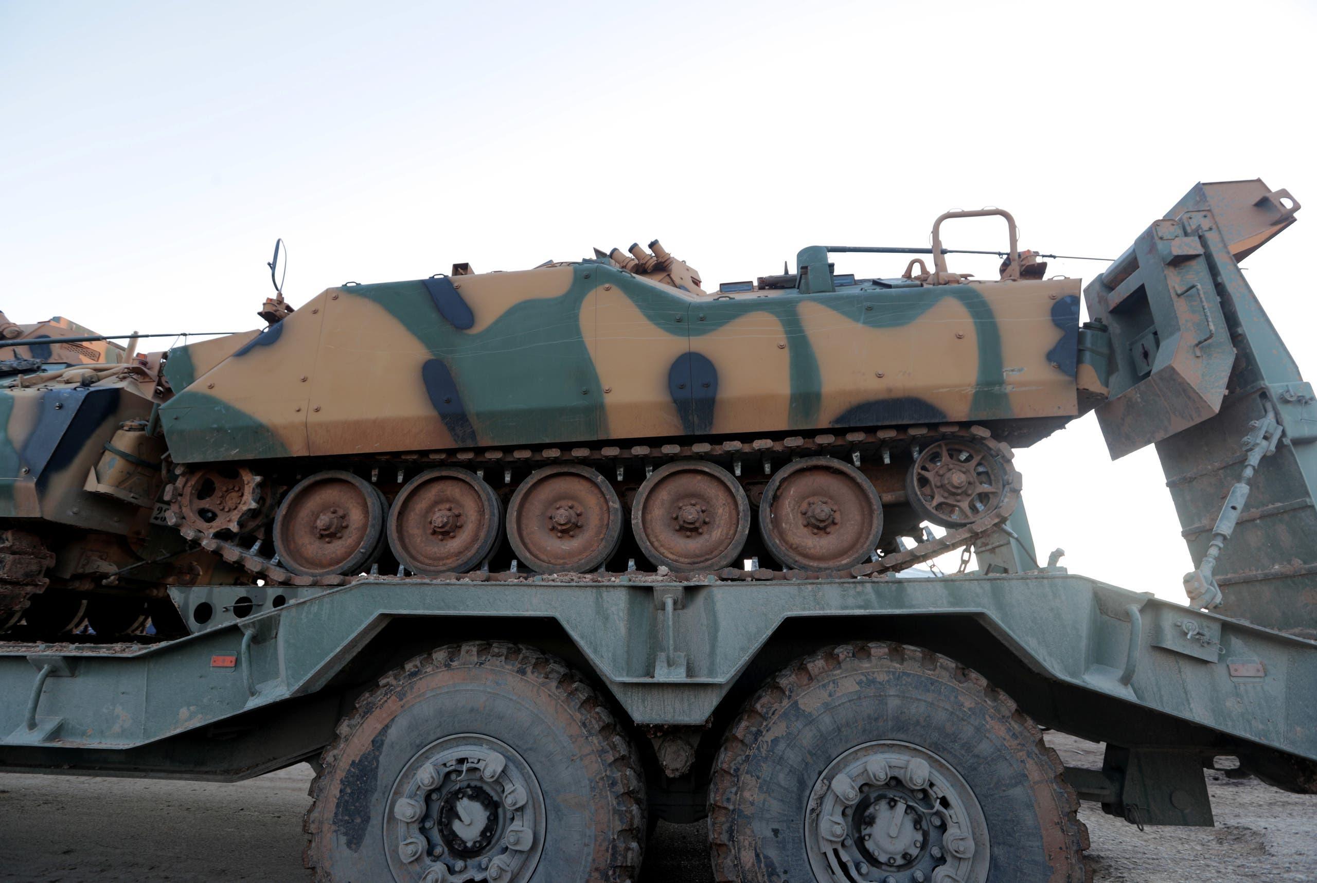 آلية عسكرية تركية تدخل سوريا مساء الأحد