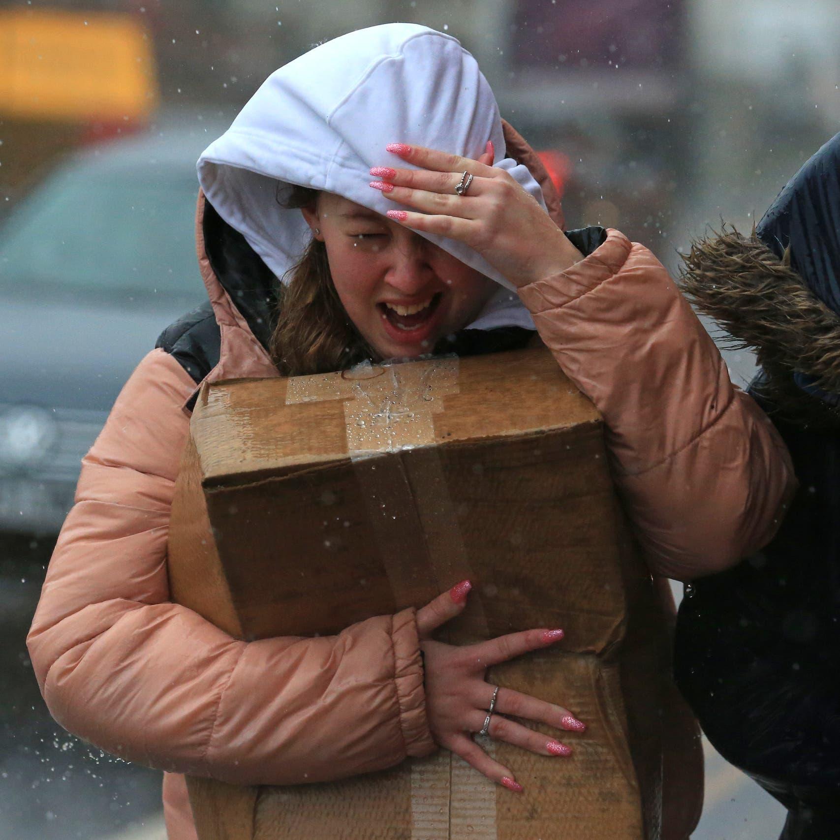 عاصفة قطبية تضرب منطقة الشرق الأوسط