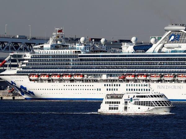 بعد خضوعهم لحجر صحى بسبب كورونا.. ركاب سفينة اليابان يغادرونها