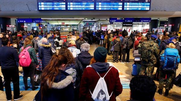 العاصفة سابينه تعطل رحلات جوية وخدمات قطارات في ألمانيا