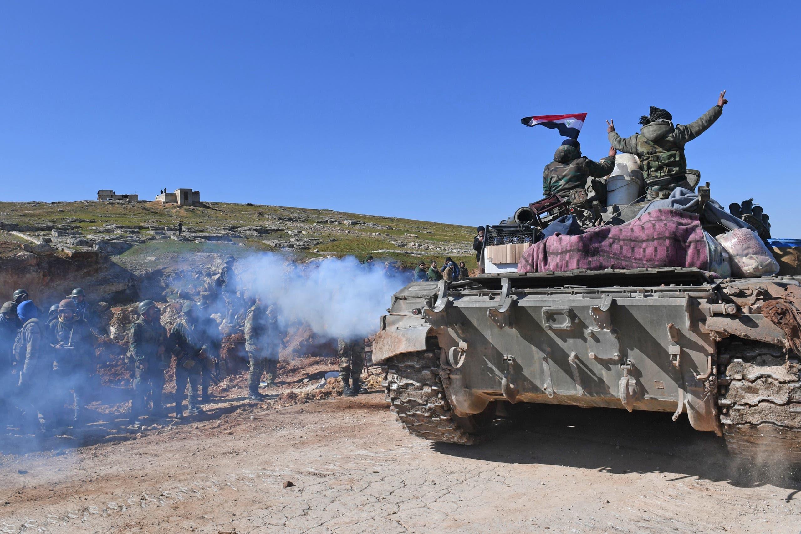 قوات النظام السوري تتقدم في جنوب حلب